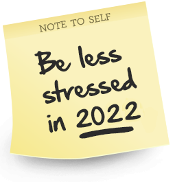 blank. Feel Less Stressed 2017